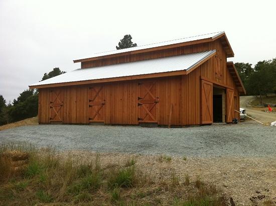 Barns and Buildings - Western Barn