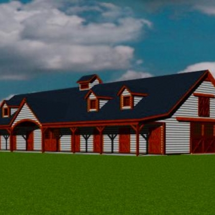 Barn and Barn Home Renditions