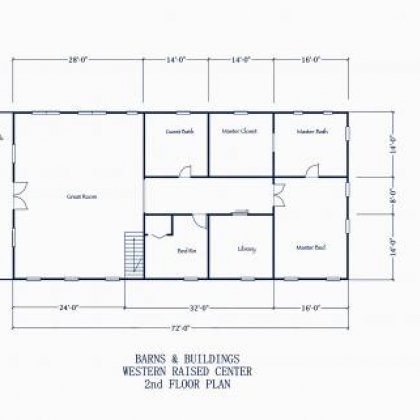 2nd Floor Plan 1A - Johnson