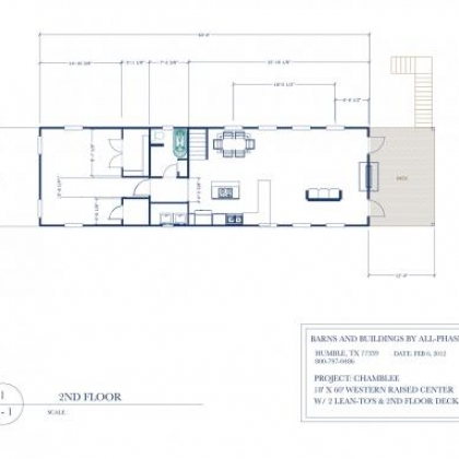 2nd Floor Plan R4A - Chamblee