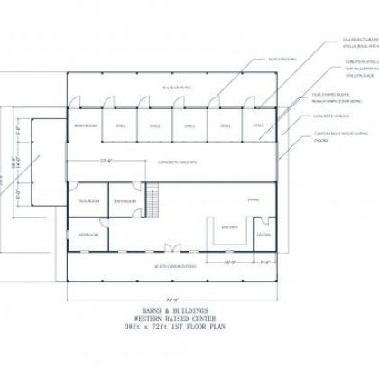 38x72 WRC 1st Floor Plan A - Johnson