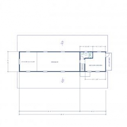 Floor Plan 2 - Carmine Texas