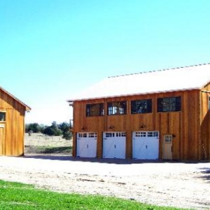 Gable Barn Art Studio 36x72 - Ellinger TX