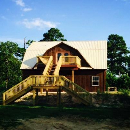 Gambrel Barn Home