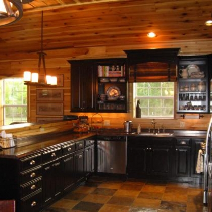 Kitchen complete by Barns and Buildings