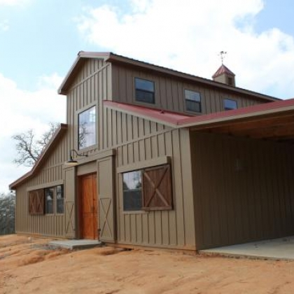 WRC Barn Home - Columbus TX